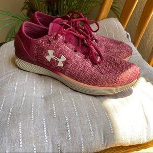 Under Armour I Will Run Long Sneakers Red Velvet